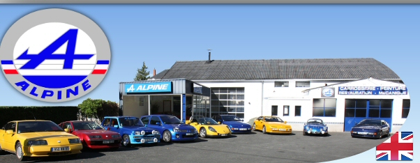 Garage alpine renaut hamelin france tours 37 jou les for Garage alpine orthez